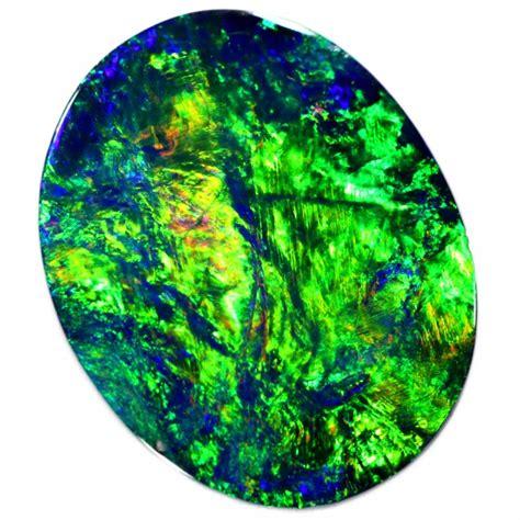 Black Opal Neon 4 10 cts neon bright black opal n1 so9584
