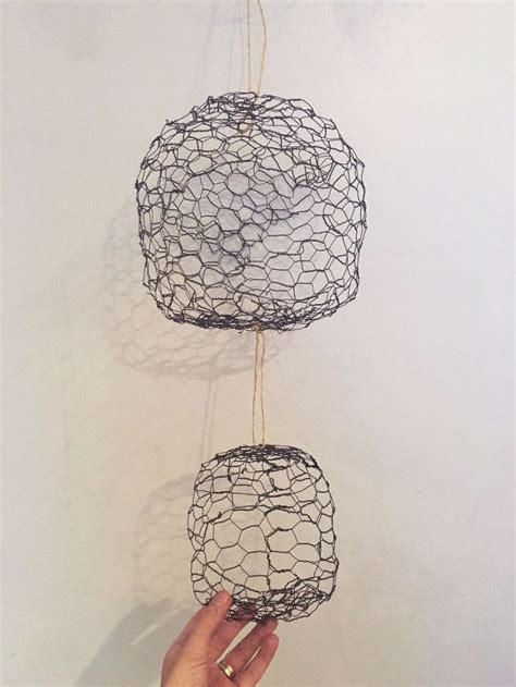 Simple Ideas For Hanging Wire Basket Hanging Chicken Wire Fruit Produce Baskets Hometalk