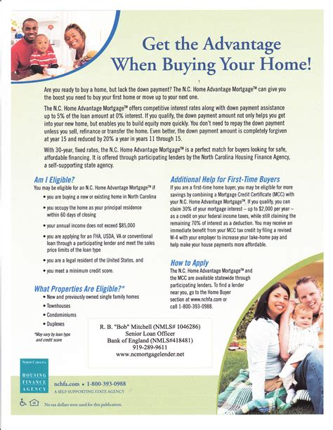 nc housing finance agency nc housing finance agency program