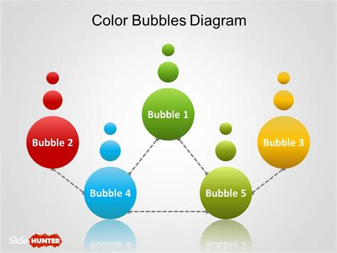 templates powerpoint original free simple bubbles diagram for powerpoint