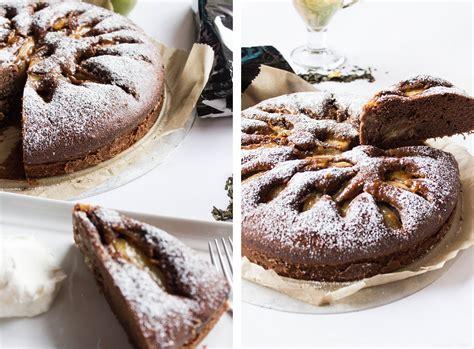 schokoladen kuchen rezept saftiger schokoladen birnen kuchen rezept i