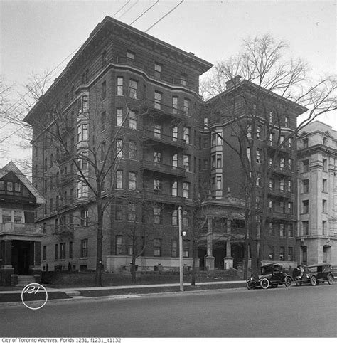 toronto appartments a brief history of toronto s first apartment building