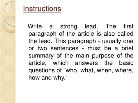 How To Make A News Paper Article - newspaper article writing sle how to teach a 2nd