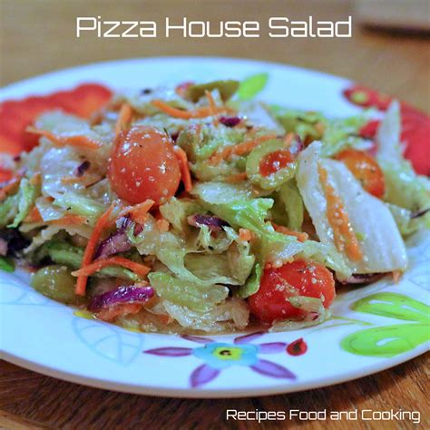 pizza house pizza house salad