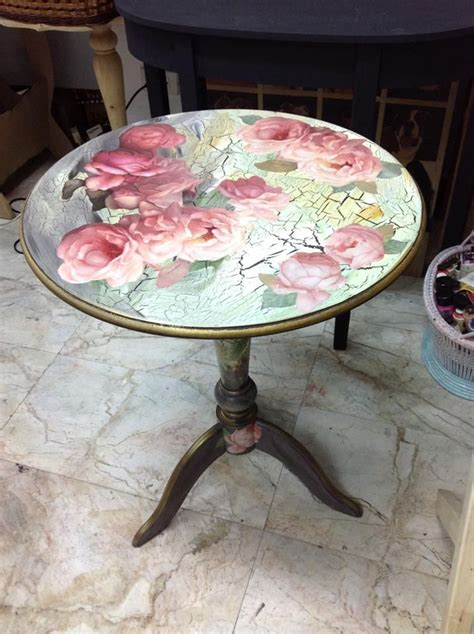 Decoupage Table - best 25 decoupage table ideas on