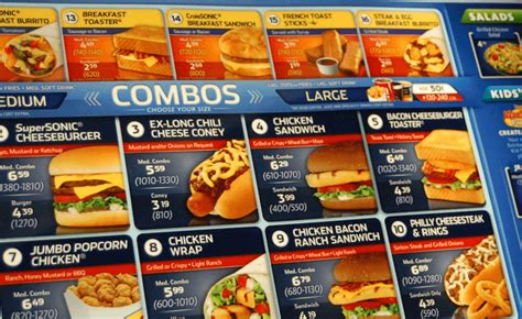 ? Sonic® Drive In Menu Prices (UPDATED 2017)   Save Money!
