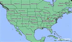 Cincinnati Ohio Map by Where Is Cincinnati Oh Where Is Cincinnati Oh Located