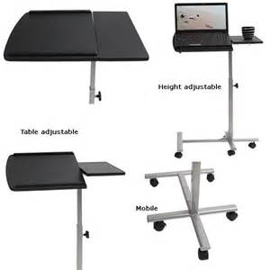 Small Desk Height Table 25 Best Ideas About Adjustable Laptop Table On