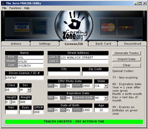 Credit Card Track 2 Format Credit Card Money Generator 24 Hours Contrariancommentary