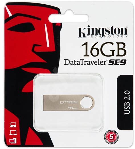 Kingston Flashdisk 16gb kingston datatraveler se9 16gb flash disk alza cz