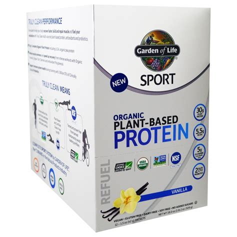 Garden Of Plant Based Protein Garden Of Sport Organic Plant Based Protein