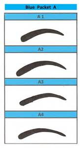 eyebrow templates printable shaping eyebrow stencil waxing kit colouring