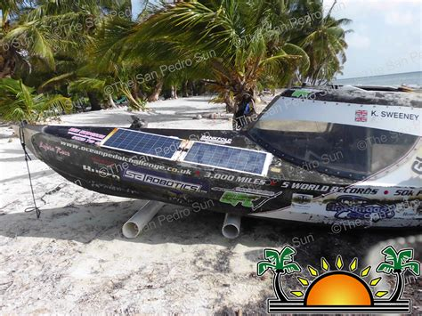 pedal boat ocean ocean pedal challenge watercraft found off the coast of