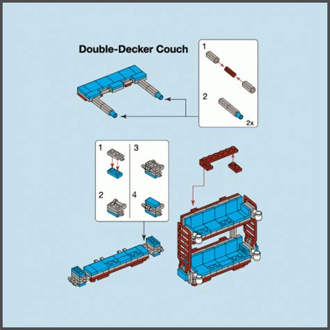 double decker couch instructions double decker couch by busted tees brickster tees your