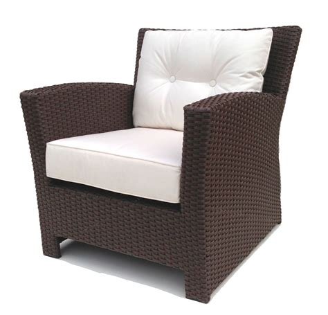 wicker couch outdoor wicker club chair