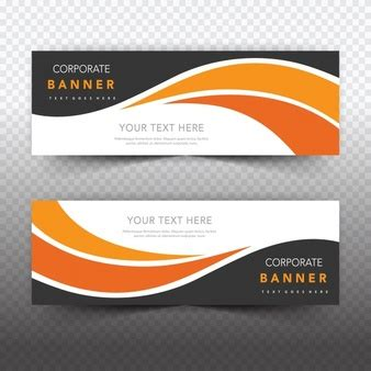 design banner orange profession designs collection vector free download