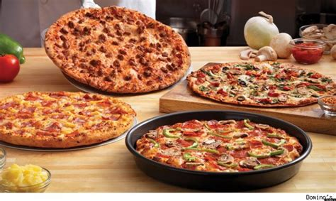 domino pizza hut free domino s pizza chain to give away half a million