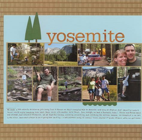 layout yosemite 17 best images about layouts cing hiking fishing on