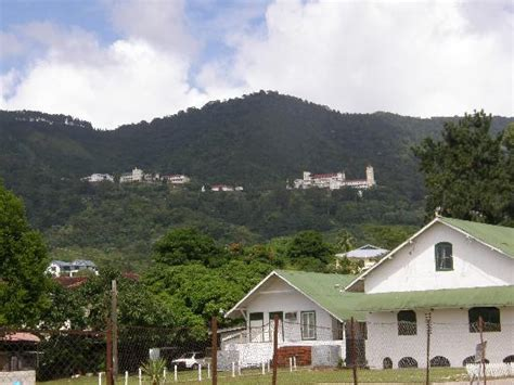 mt st benedict trinidad st benedict s up on the hill overlooks tunapuna picture