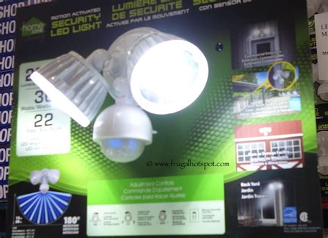 costco sale home zone security led light 29 99 frugal