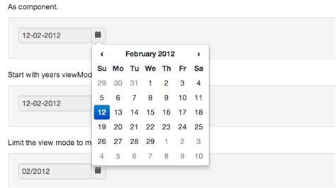 bootstrap templates for datepicker 50 best jquery calendar plugins for web designers