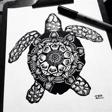 zentangle tattoo tartaruga zentangle zentangle turtle draw ink