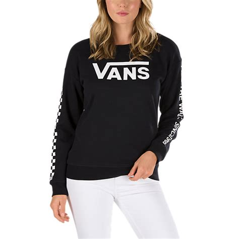 tshirt vans black riders clothing low rider crew sweatshirt shop at vans