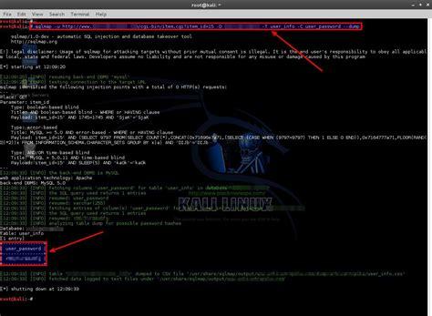 tutorial hack database server sql injection tutorial pentesting tutorials