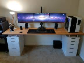 best gaming desk best 25 gaming desk ideas on gaming computer