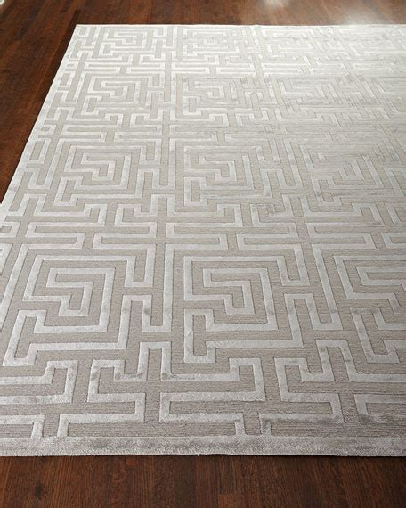 horchow rug horchow exquisite silver trellis rug look for less