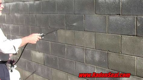 how to seal a basement wall from water seal your basement or driveway permanently