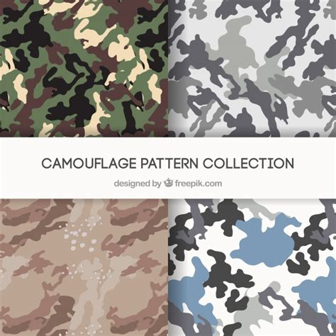 military pattern ai camo patterns vectors vector free download