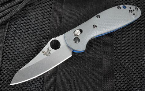 benchmade mini griptilian 555 benchmade 555 1 mini griptilian gray g10 20cv blade