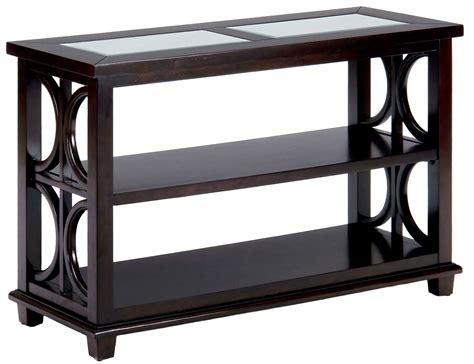 brown sofa table panama brown sofa media table from jofran coleman furniture