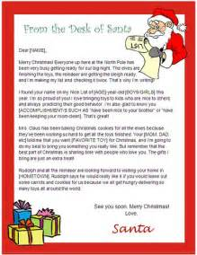 Microsoft Word Santa Letter Template Words Desks And Santa Letter Template On Pinterest