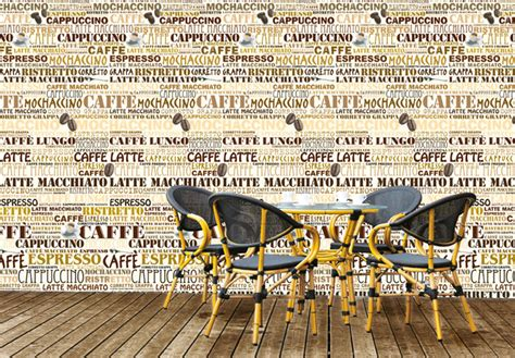 Wall Letters Stickers coffee shop photo wallpaper wall art com