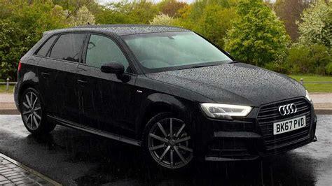 Audi A3 Sportback Schwarz by Used 2017 Audi A3 Sportback Black Edition 1 5 Tfsi 150 Ps