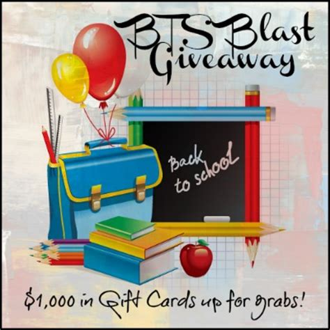 Back To School Giveaway Event - bloggers wanted back to school blast giveaway event the bandit lifestyle