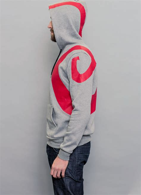 Jaket Zipper Hoodie Sweater God Of War 2 ghost of sparta insert coin clothing