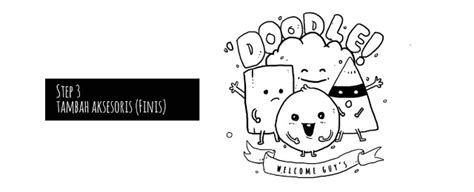 doodle untuk ibu tutorial menggambar doodle sederhana untuk pemula