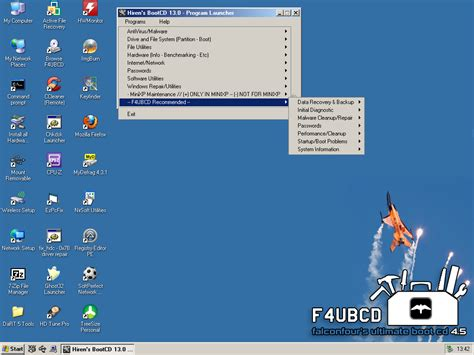reset windows password with ubcd falconfour s ultimate boot cd usb 4 5 falconfour s