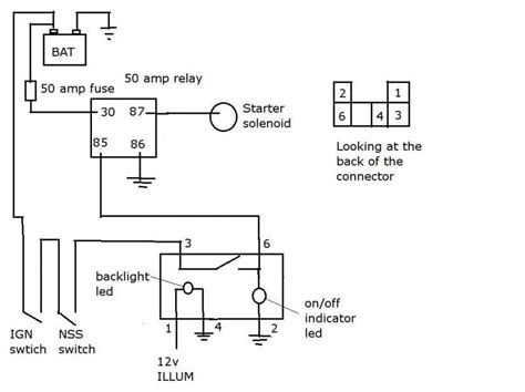 wiring starter 1977 toyota hilux wiring get free image