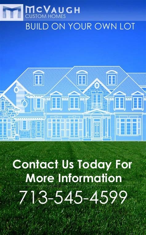 build on your lot diamante custom homes on your own lot build on your own lot mcvaugh custom homes