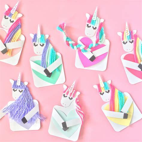 cards craft unicorn card craft
