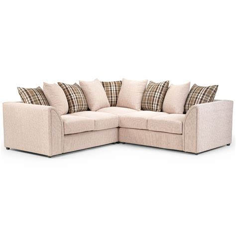 Corner Settee Nevada Large Fabric Corner Sofa Next Day Delivery Nevada