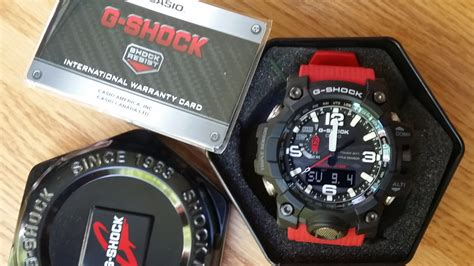 Box Kaleng G Shock casio g shock mudmaster gwg 1000rd 4ajf like new with box papers windy city collector