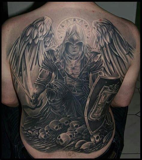 tattoo cost full back tatouage homme ange 15 mod 232 les de tatouage ange homme