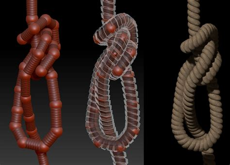 zbrush tutorial rigging rope