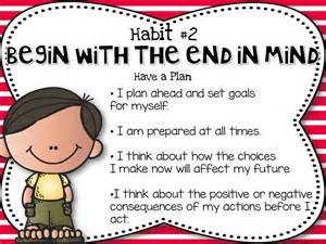 Habit 2 Begin With The End In Mind Essay by Habits For Health Happiness 187 Habit 2