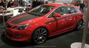 Opel Astra Hatchback 2010 Opel 2010 Astra J I1600 Irmscher 4door Hatchback The